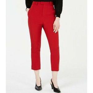 Line +dot cropped pants